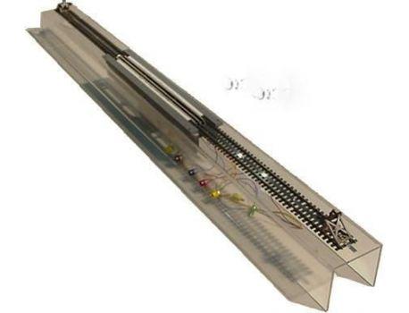 LUX 9301 Radreinigungsanlage mit Faulhabermotor H0