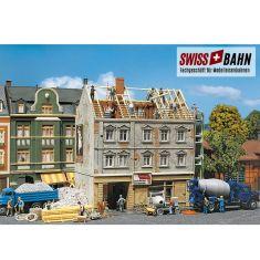 Faller 130456 Grosses Stadthaus in Renovation - H0
