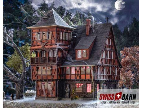 Vollmer 43679 Grusel Villa Vampir - Mit Flackerlicht H0