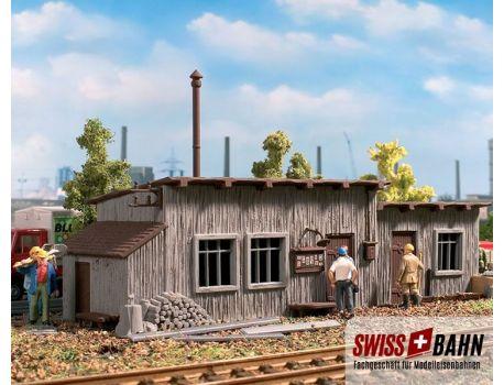 Vollmer 45713 Die Bahnhütte am Gleis - H0