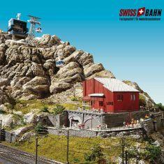 BRAWA 6331 Schweizer Gondelbahn -Titlis, Geschenkpackung H0