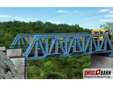 Vollmer 42545 Vorflutbrücke aus Stahl, gerade H0