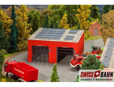 Faller 130161 Fahrzeughalle - Lagerhalle für Einsatzfahrzeuge H0