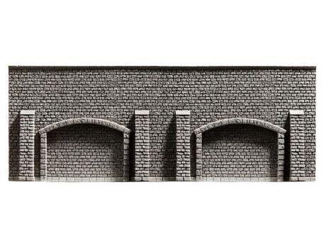 NOCH 58058 Arkadenmauer- Stützmauer PROFI-plus H0