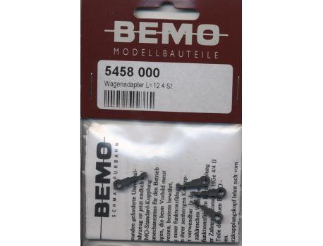 Bemo 5400 180 Wagenadapter - Zahnradbahn