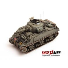 SWIBA 387.112 Sherman M4A4, UK/US H0 Fertigmodell