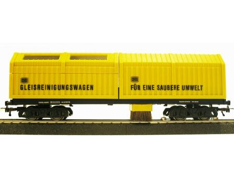LUX 8831 Gleisstaubsauger DC~ Faulhabermotor H0