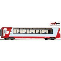 Bemo 3289127 RhB Bp 2537 - Panoramawagen H0/m