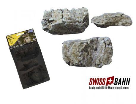 Woodland 1234 Giessform grosse Felsen - Wie in echt!