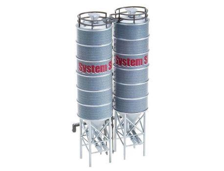 FALLER 130476 Industriesilos - Doppelsilos H0