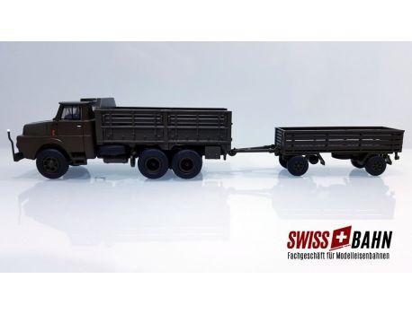 ACE 005134 Henschel LKW HS 3-14 mit Infanterieanhänger offen