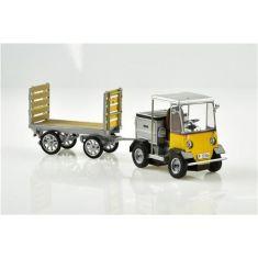 ACE 008701PTT Elektro-Schlepper mit Anhänger TR-5047e H0