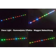 """SWISSBAHN 55869 - LED """"DISCO"""" Beleuchtung Farbwechsler 230mm"""