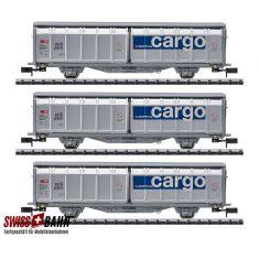 """Minitrix 15488 Containertrgw.-Set """"Lebensmittel-Kühltransport"""""""