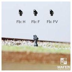 MAFEN 4146.01 SBB Zwergsignal 3 Flammig Spur N