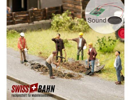 NOCH 12841 Auf der Baustelle - mit echtem Soundchip Modul