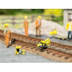 NOCH 13640 Schienen- Arbeitsset, Schienen- Bügelsäge H0