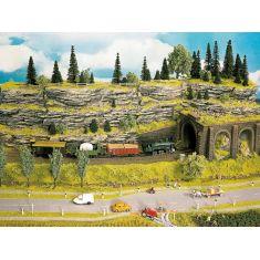 Noch 58480 Felsplatte Schichtgestein Struktur-Hartschaum