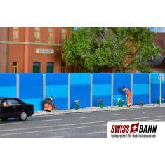 Kibri 38623 Moderne Strassen- Schallschutzwand H0