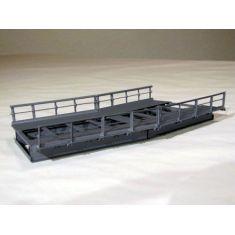 HACK R1-30 Brückenelement für Kurven · R1 360 mm 30°