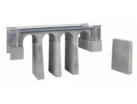 Faller 120465 Viadukt- Set 2 gleisig,  gerade - H0