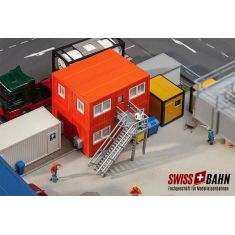 Faller 130135 Moderner Baucontainer, Wohncontainer H0