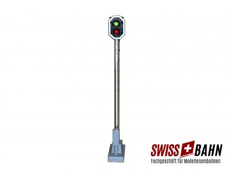Schneider 2201 SBB Hauptsignal 2 LED. rot/grün Höhe 66 mm