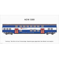 HAG 63003 SBB -Doppelstockwagen S-Bahn 2. Klasse DC
