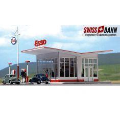"""Busch 1005 Tankstelle """"ESSO"""" Epoche III bis V H0"""