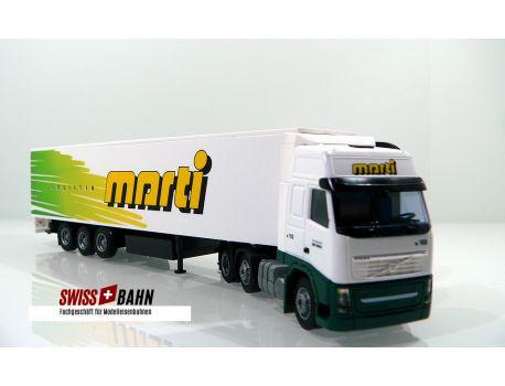 AWM 55216 DAF XF - Marti Logistik AG -3283 Kallnach
