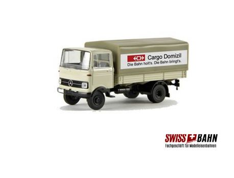 Brekina 94817 MB LP 328 - Henniez Transporter H0