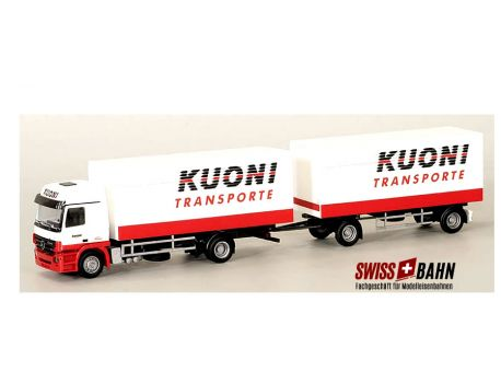 "AWM 55150 MB Actros MP2 - ""KUONI"" Transport Domat/Ems"