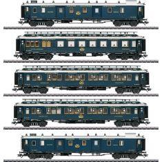 """Märklin 42790 Schnellzugwagen-Set 1 """"Simplon-Orient-Express"""" H0"""