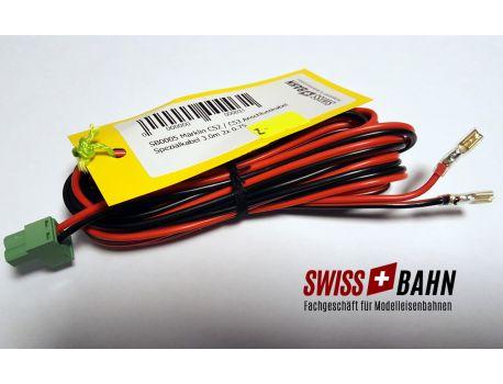 SB0003 Märklin CS2 / CS3 Anschlusskabel 3m - 2 X 0.75mm