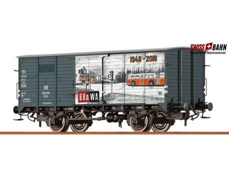 Brawa 67484 DB gedeckter Güterwagen, Sondermodell 70 Jahre Brawa