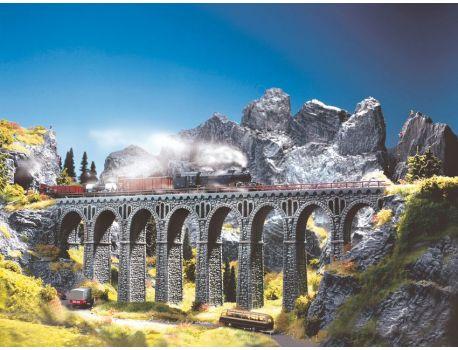 Noch 58660 Bruchsteinviadukt - Viadukt aus Hartschaum H0