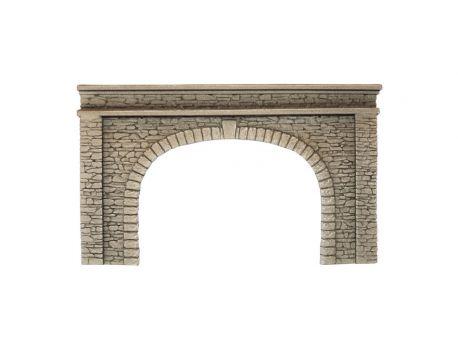 NOCH 58062 Tunnel-Portal, 2-gleisig, 220 x 130 mm, H0