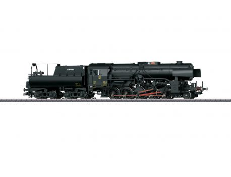 Märklin 39046 Schwere Güterzug-Dampflok BR 5519, mit Wannentender