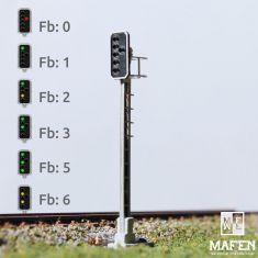 MAFEN 413608 - SBB - Hauptsignal 3 Lichter -grün/rot/gelb