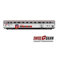 HAG 61132 SBB Doppelstockwagen IC 2000 / Bistro mit. In. Bel.