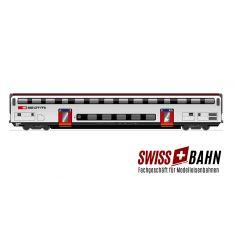 HAG 61029 SBB Doppelstockwagen IC 2000 / 2.Klasse mit Inn. Bel. DC