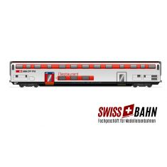 HAG 61135 SBB Doppelstockwagen IC 2000 / Restaurantwagen m.Ib. DC