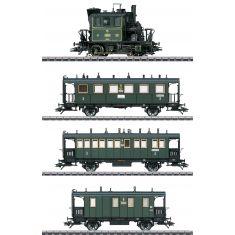 Märklin 36867 Dampflok Gattung PtL 2/2 Mfx-Plus - Kompletter Zug