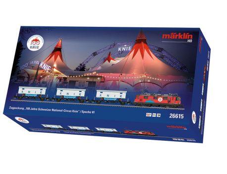 """Märklin 26615 Zugpackung """"100 Jahre Schweizer National-Circus Knie"""""""