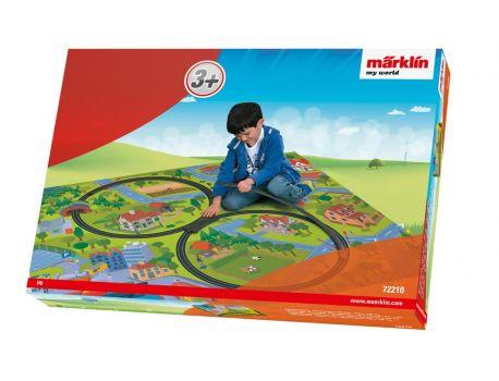 """Märklin 72210 My World - Spielteppich """"Eisenbahn"""" für H0"""