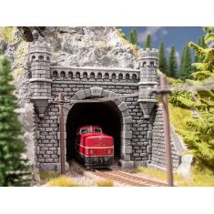 NOCH 58270 Granit- Tunnel-Portal, 1-gleisig, 16 x 15.2 cm H0