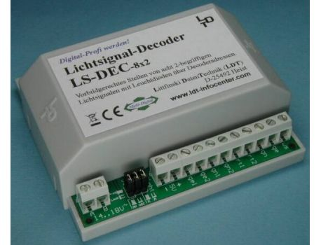 Littfinski LDT 510713 Lichtsignaldecoder LS-DEC-8x2-G