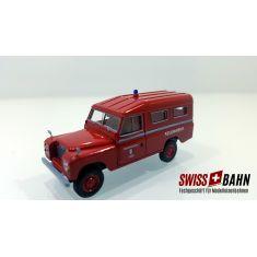 Brekina 91376 Land Rover Feuerwehr- Gelterkinden BL, H0
