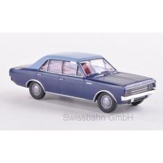 BREKINA 20514 Opel Rekord C, dunkelblau/hellblau 1:87