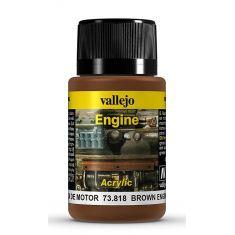 Vallejo 773818 Farbe Braune Rußflecken, 40 ml